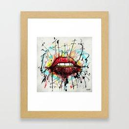 Beso S  Framed Art Print