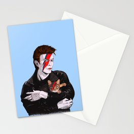 David & The cat Stationery Cards