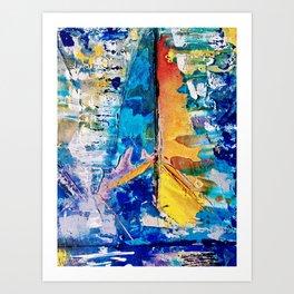 Windward Art Print