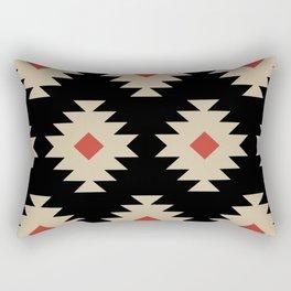 Colorful Southwestern Pattern 553 Rectangular Pillow