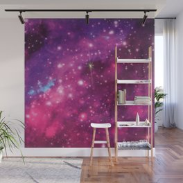 A Galaxy in Pink Wall Mural