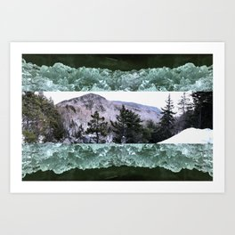Wondrous Winter Scene Art Print