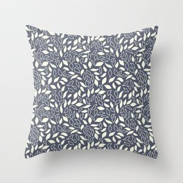 Winter Leaves 8 Throw Pillow