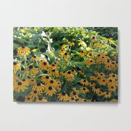 Flowers Full of Sunshine Metal Print