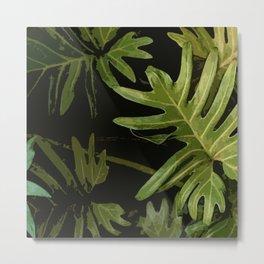 Leaves #green#leaves Metal Print
