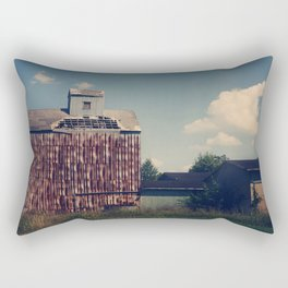 Rusted  Rectangular Pillow
