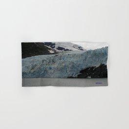 TEXTURES -- A Face of Portage Glacier Hand & Bath Towel