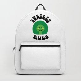 Turtls Rule Backpack