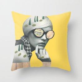 Shexplores Throw Pillow