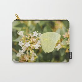 Lemon Migrant Butterfly Carry-All Pouch