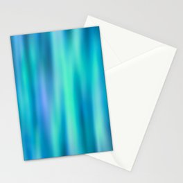 Mermaid Lake - Blue Green Aesthetic Stationery Cards