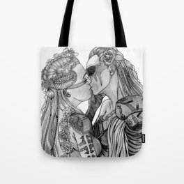 Clexa Wedding Tote Bag