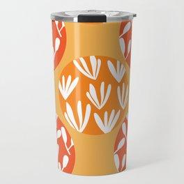 botanical circles Travel Mug