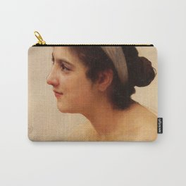 William-Adolphe Bouguereau - Study Of A Woman For Offering To Love (Unknown) Carry-All Pouch