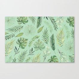 Leaves 10 Canvas Print