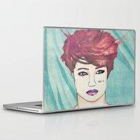 exo Laptop & iPad Skins featuring Exo Kai by Isaacson1974