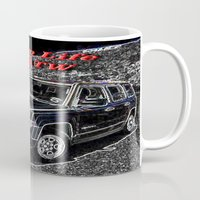 jeep Mugs featuring JEEP JPATW by Dmarmol