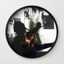 DropArt & Shirly @BYOB TelAviv #03 Wall Clock