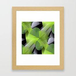 3D abstraction -05- Framed Art Print