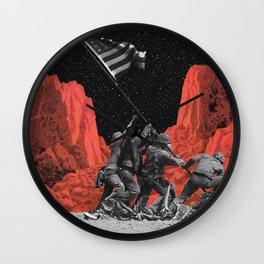 The mars war Wall Clock