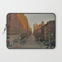 The Yellow Muted City (Color) Laptop Sleeve