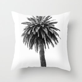 for the love of palm Throw Pillow