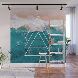 Beach Arrow / Geometric Wall Mural