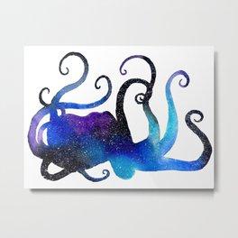 Spirit Animal - Octopus Metal Print