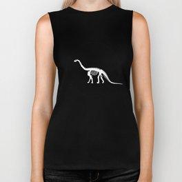 Camarasaurus skeleton Biker Tank