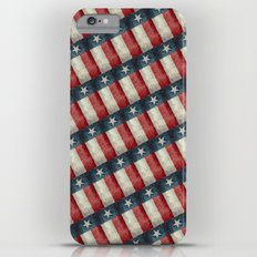 Vintage Texas flag pattern iPhone 6s Plus Slim Case