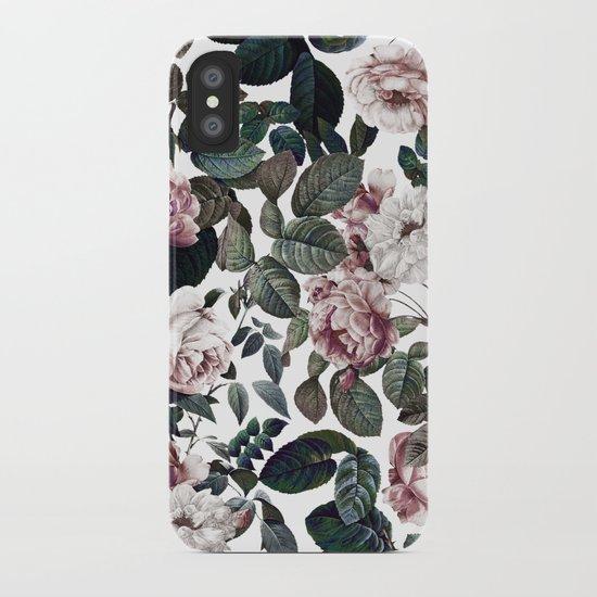 Vintage garden iPhone Case