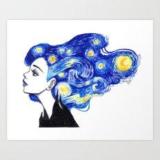 Starry Night Art Print