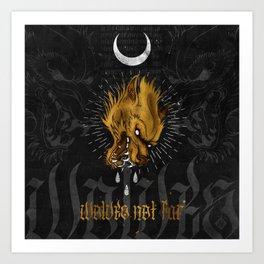Wolves Not Far Art Print