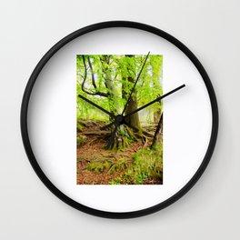Enchanted Tree Wall Clock
