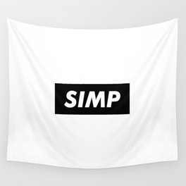 SIMP Black Wall Tapestry