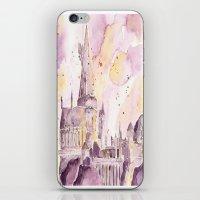 hogwarts iPhone & iPod Skins featuring hogwarts by impalei