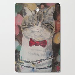 Adam the Christmas Cat Cutting Board