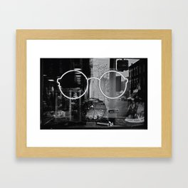 4 eyez Framed Art Print