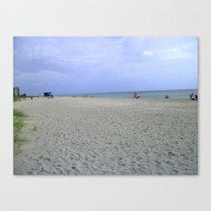 Vacancy on the Beach Canvas Print