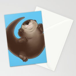 Chonk Otter Stationery Cards