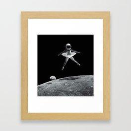 Dance like no one is watching. Framed Art Print
