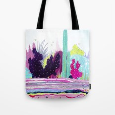 Cacti Watercolour Allsorts Tote Bag