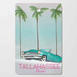 Tallahassee Florida travel poster, Cutting Board