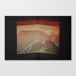 Untitled (Alps) Canvas Print