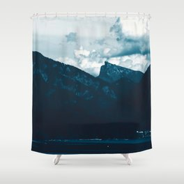 Mountain View by the Lake #1 #art #society6 Shower Curtain