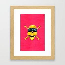 La Calaca Framed Art Print