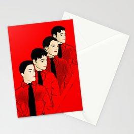Kraftwerk Kens - Funny Music Pop Art! Stationery Cards