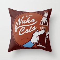 Nuka Cola Fallout drink Throw Pillow