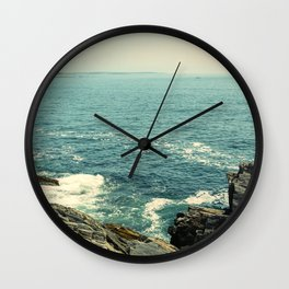 She Saw Possibilities Stretching Out Before Her Wall Clock