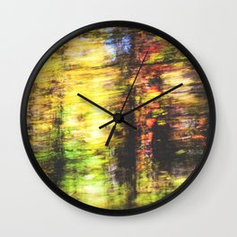 speed of fall Wall Clock